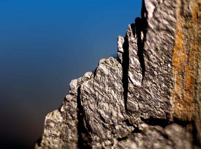 Jagged Stone. Macro.