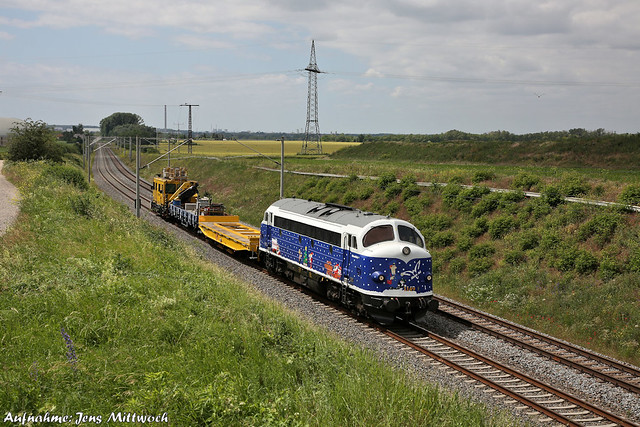 227 008-0 (MY 1149) Altmark Rail Bad Dürrenberg 13.06.2021