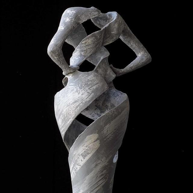 striped pottery