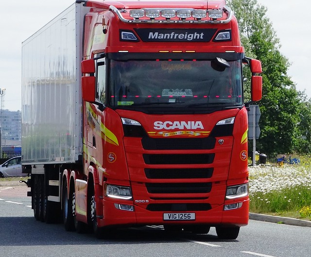 Manfreight Scania S500 VIG 1256
