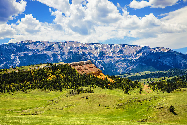 Red Hogback and Pat O'hara Mountain