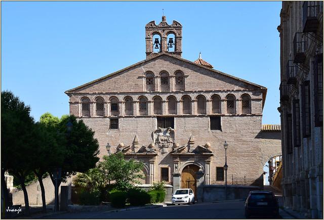 Convento de la Inmaculada Concepción (Épila, Aragón, España, 9-6-2021)