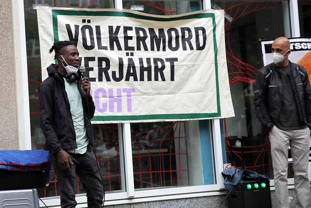 Solikundgebung für die Ovaherero und Nama, Berlin 12.06.2021