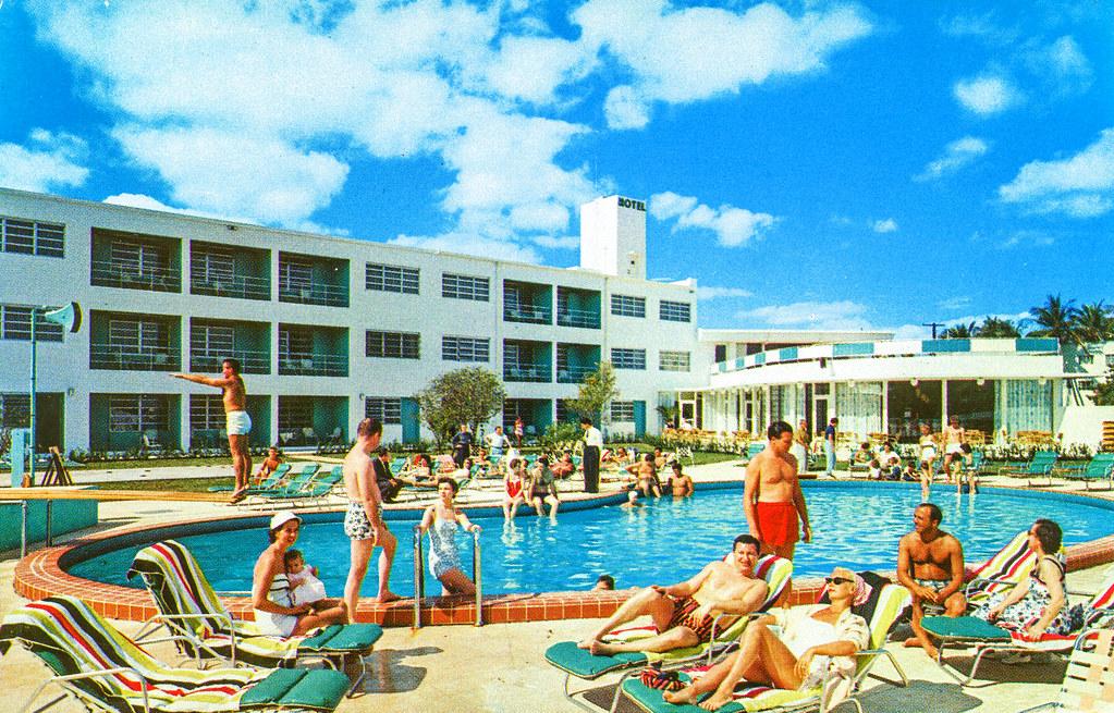 Venetian Isle Motel, Miami Beach, Florida
