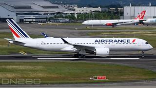 Air France A350-941 msn 500 F-WZGF / F-HTYJ