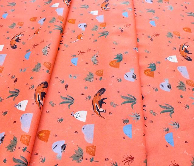 Cloud9 Fabrics Arid Wilderness 227044 Resilient Creatures