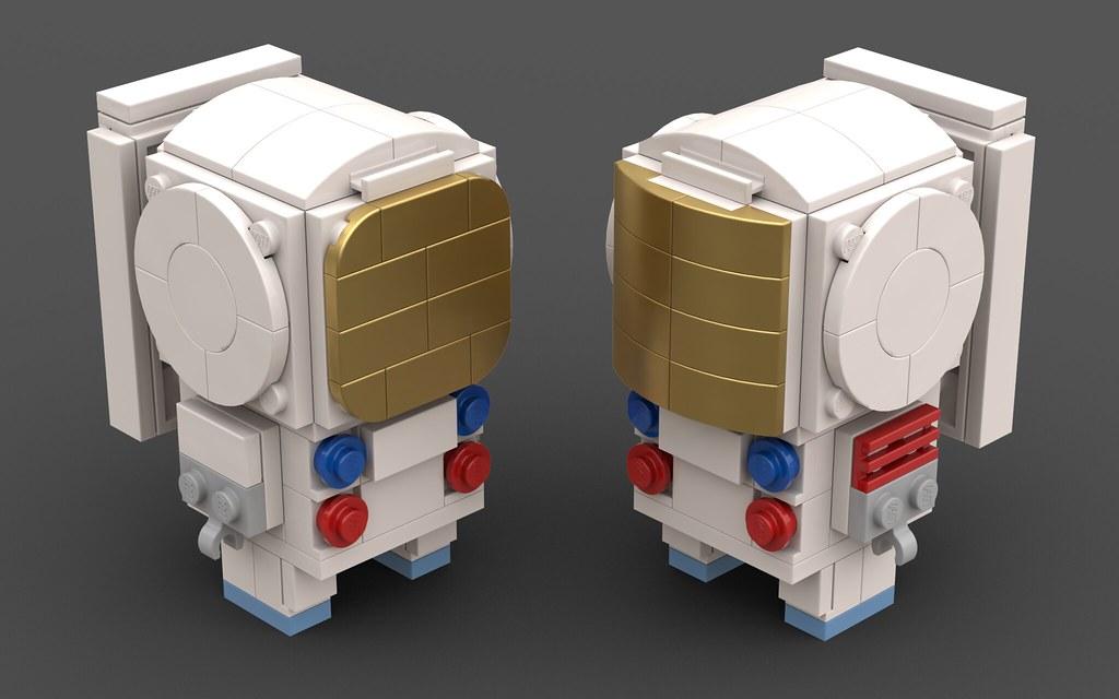 BrickHeadz - Apollo A7L Spacesuit