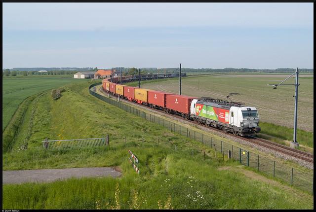 DB BR 193 361 (DIG) // Nosta Shuttle 44588 // Lewedorp, Jonker Fransweg // 28 mei 2021