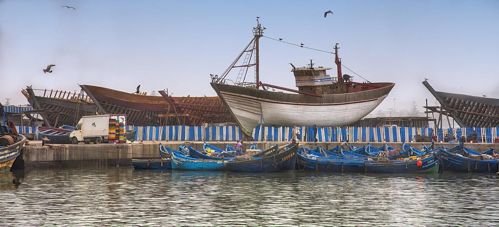 Shipyard - chantier naval - Essaouira (2)