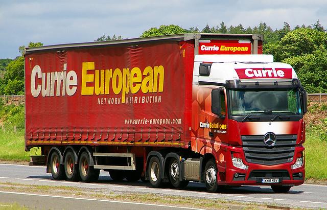MB Actros - Currie European