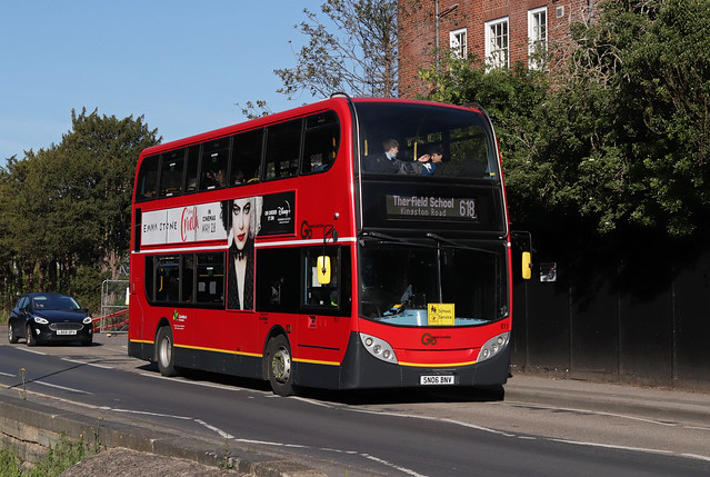 Route 618, Go Ahead London, E11, SN06BNV