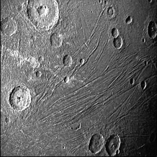 The Dark Side of Ganymede