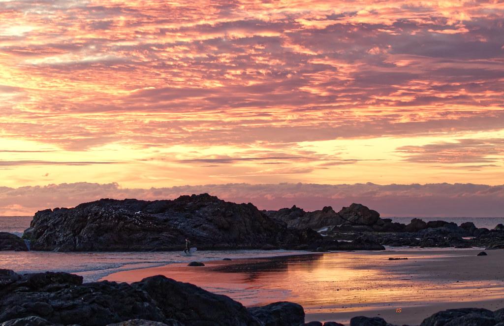 Town Beach Sunrise at Port Macquarie.
