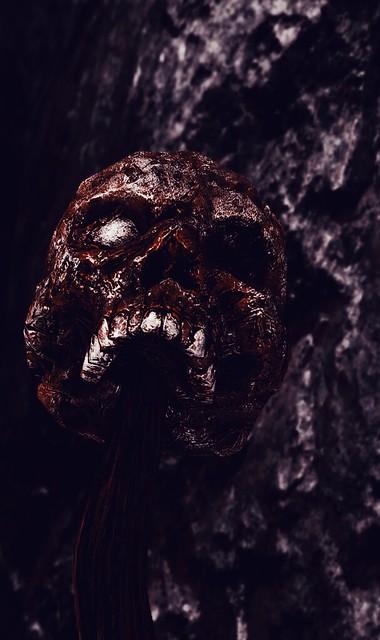 SC 2742-9 - Adariel - Near Lost Knife Hideout - Skull