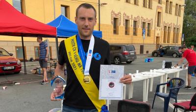 Utramaratonec z Bystřice pod Hostýnem Velička slaví český titul v běhu na 100 kilometrů