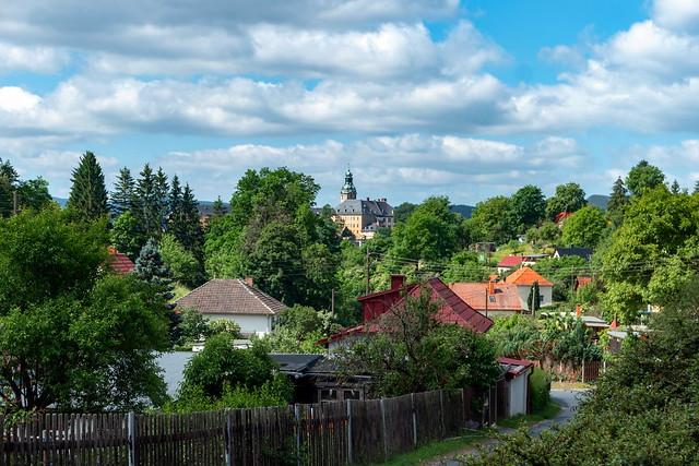 Blick auf Schloss Heidecksburg