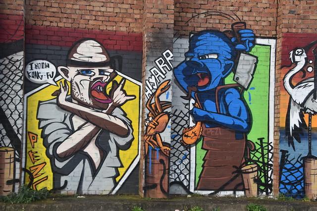 Pandemic Graffiti