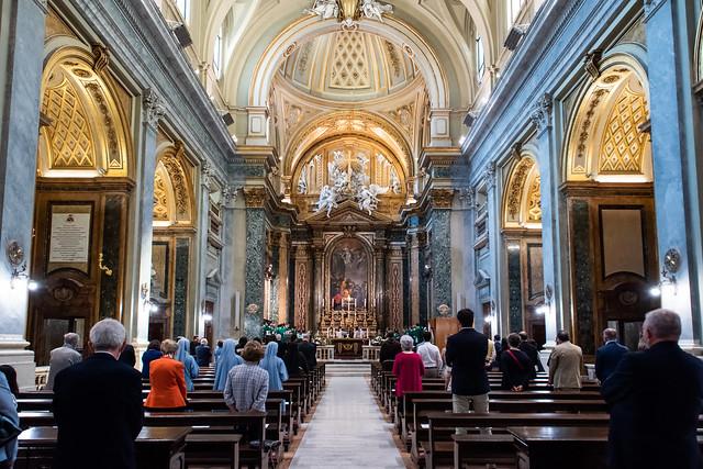 Presa di possesso della Diaconia di Sant'Apollinare del Card. Raniero Cantalamessa, , O.F.M. Cap.