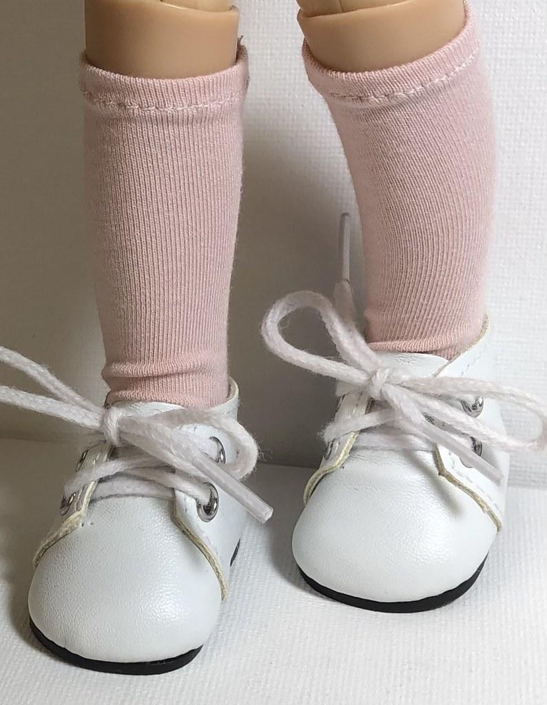 Blush… Short Socks For Paola Reina Doll…