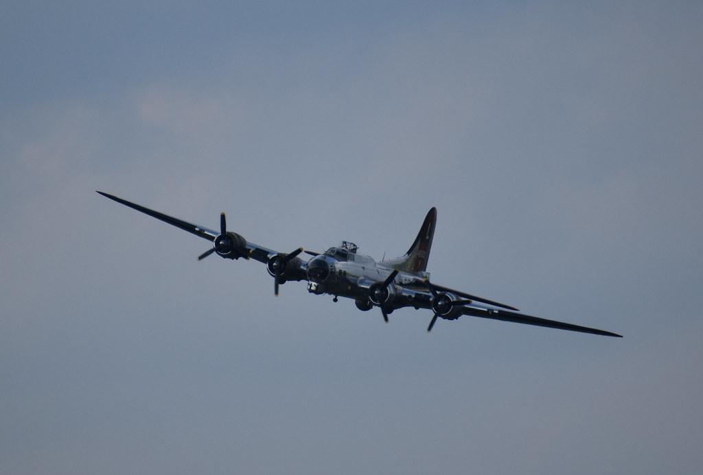 USAAF - B-17G Yankee Lady (S#44-85829 Delv 7-16-45 No WWII - Trib 8th AF 381st BG @ Ridgewell, ENG) (46-58 to USCG PB-1G #1 @ Yankee Air Museum, MI - Jun-12-21 - Kristo Karl