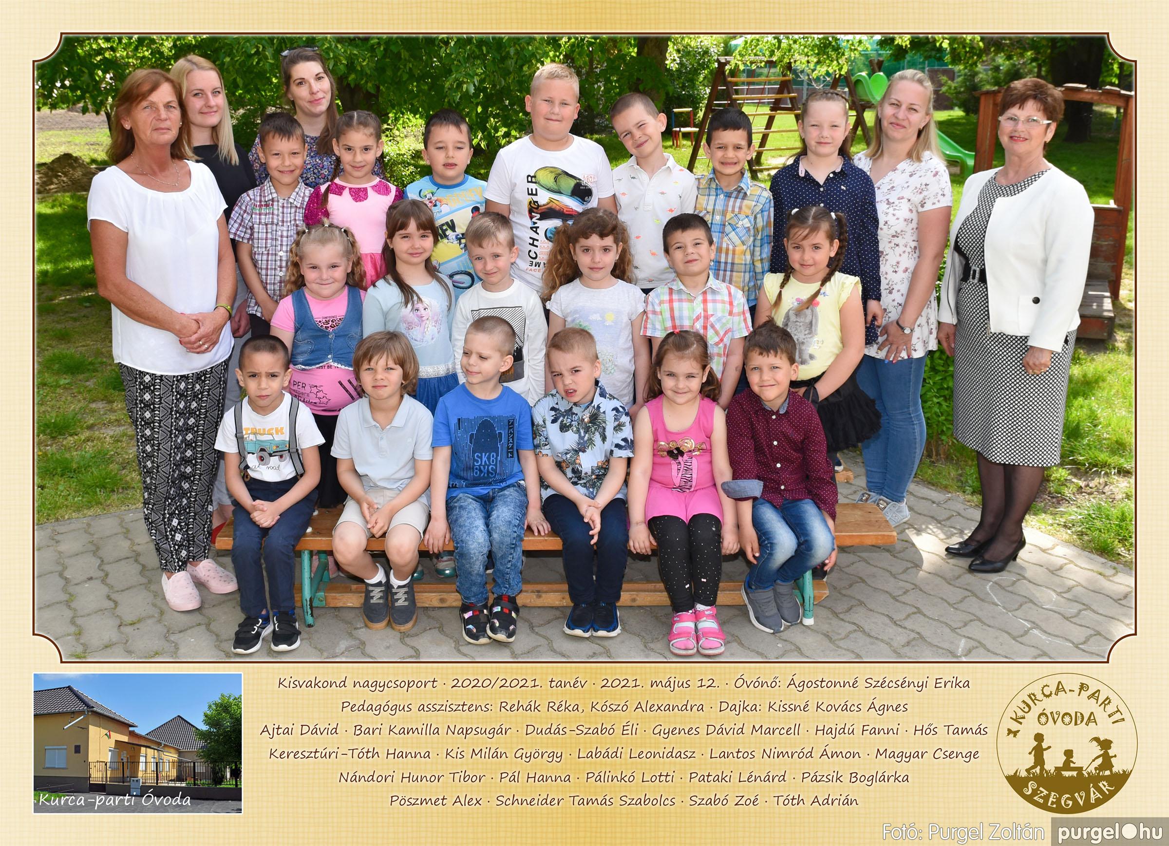 2021.05.12. 004 Kurca-parti Óvoda csoportképek 2021. - Fotó:PURGEL ZOLTÁN© Kisvakond csoport.jpg