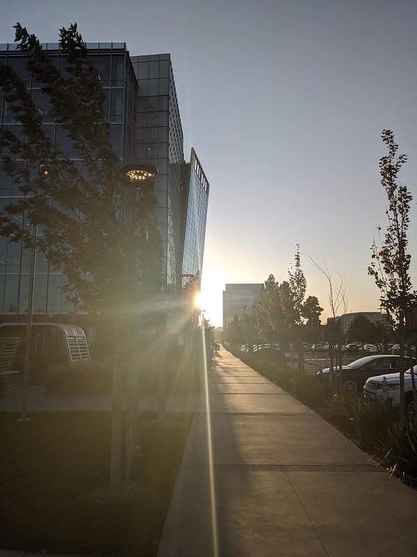 Edge of the sun, Moffett Place