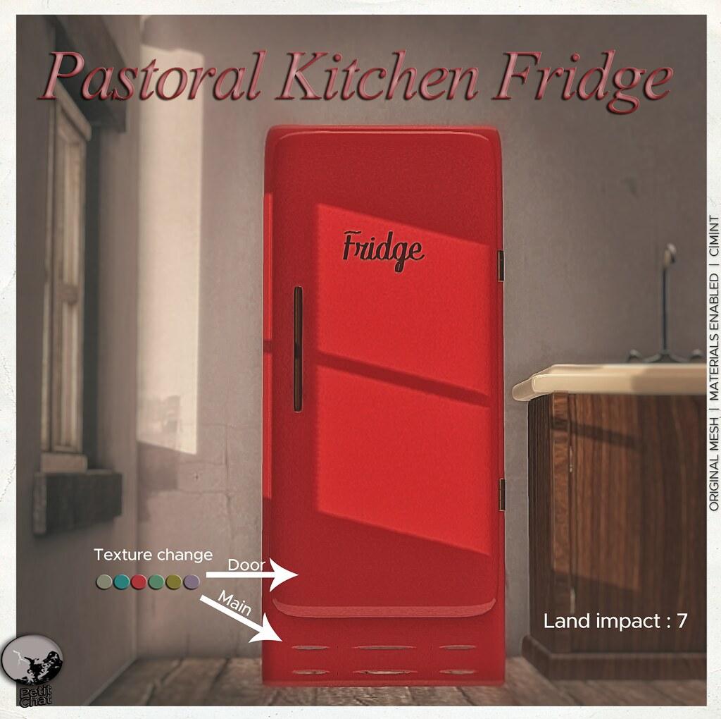 Pastoral Kitchen Fridge : New release @ Petit Chat