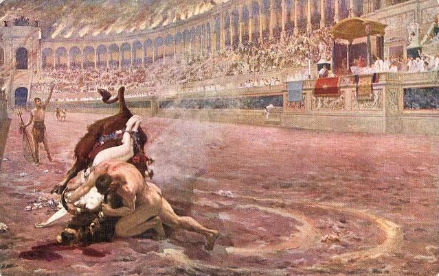 Jan Styka, Quo vadis? (Ursus' battle with the bull)