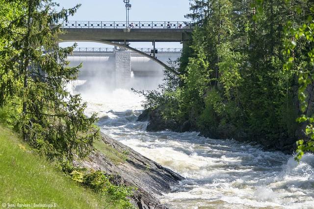 Imatrankoski ja kosken ylittävä silta