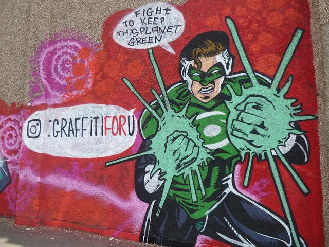 Recycle - Green Lantern - Barford Street, Digbeth