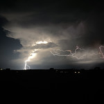 13. Juuni 2021 - 22:47 - Using my iPhone 11 Pro Max with iLightningCam2 app, I recorded and stacked 4 lightning bolts.
