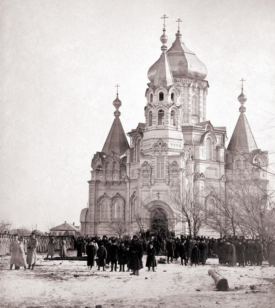 14 января 1901 года Епископом Владивостокским и Камчатским Евсевием совершено освящение собора во имя святителя Николая Мерликийского Чудотворца