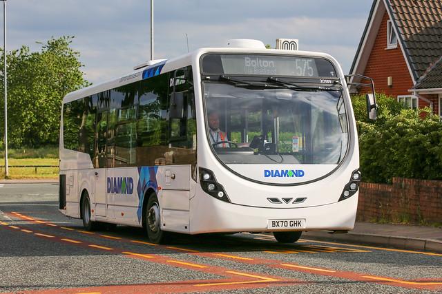 Diamond Bus North West Wright Streetlite 20189 BX70 GHK