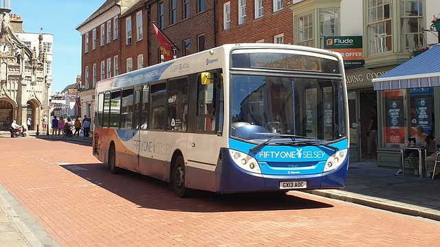 Stagecoach South 27840 (GX13 AOC) Chichester 14/6/21