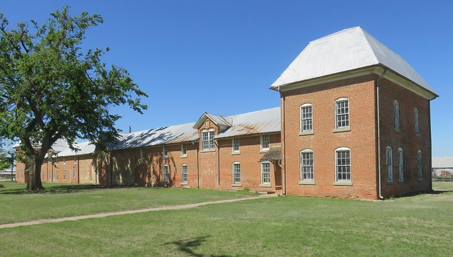 Old Fort Reno Commissary (Canadian County, Oklahoma)