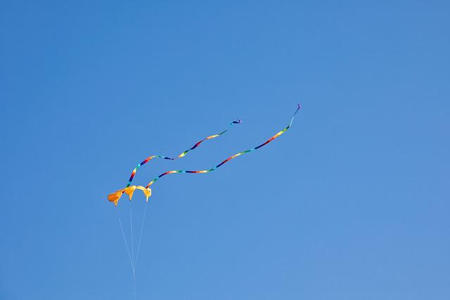 Kite Over McCormacks Beach Provincial Park, Eastern Passage Nova Scotia