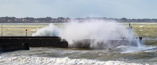 Tempête au port de Comberge (44)