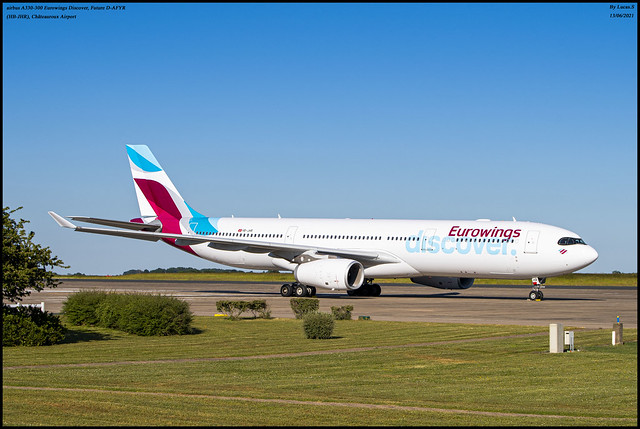 airbus A330-300 Eurowings Discover (HB-JHR), Future D-AFYR