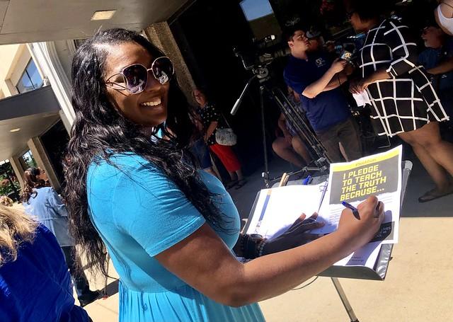 June 12 Teach the Truth Pledge Day in Waterloo, Iowa