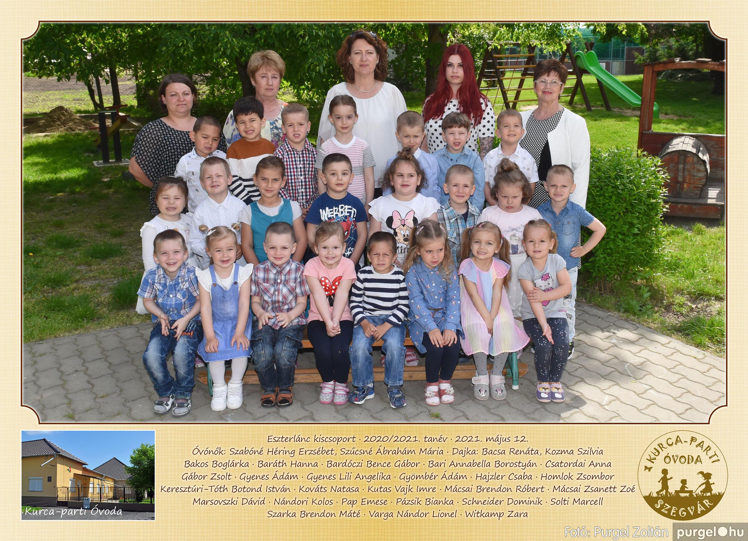 2021.05.12. 001 Kurca-parti Óvoda csoportképek 2021. - Fotó:PURGEL ZOLTÁN© Eszterlánc csoport.jpg
