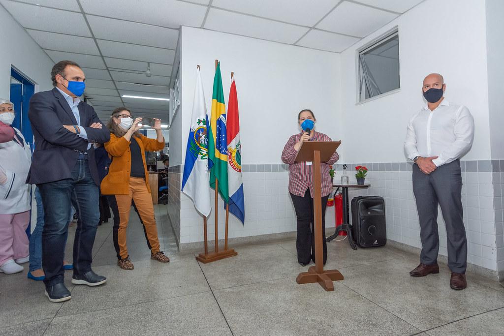 Prefeitura de Teresópolis entrega reestruturação da Unidade de Saúde Dr.Eitel Abdallah, no São Pedro