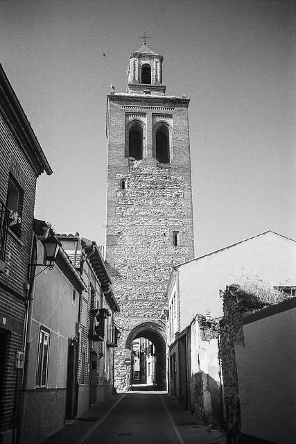 Arevalo, iglesia de Santa María la Mayor.