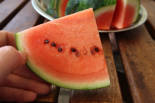 Aufgeschnittene Wassermelone (Stück)