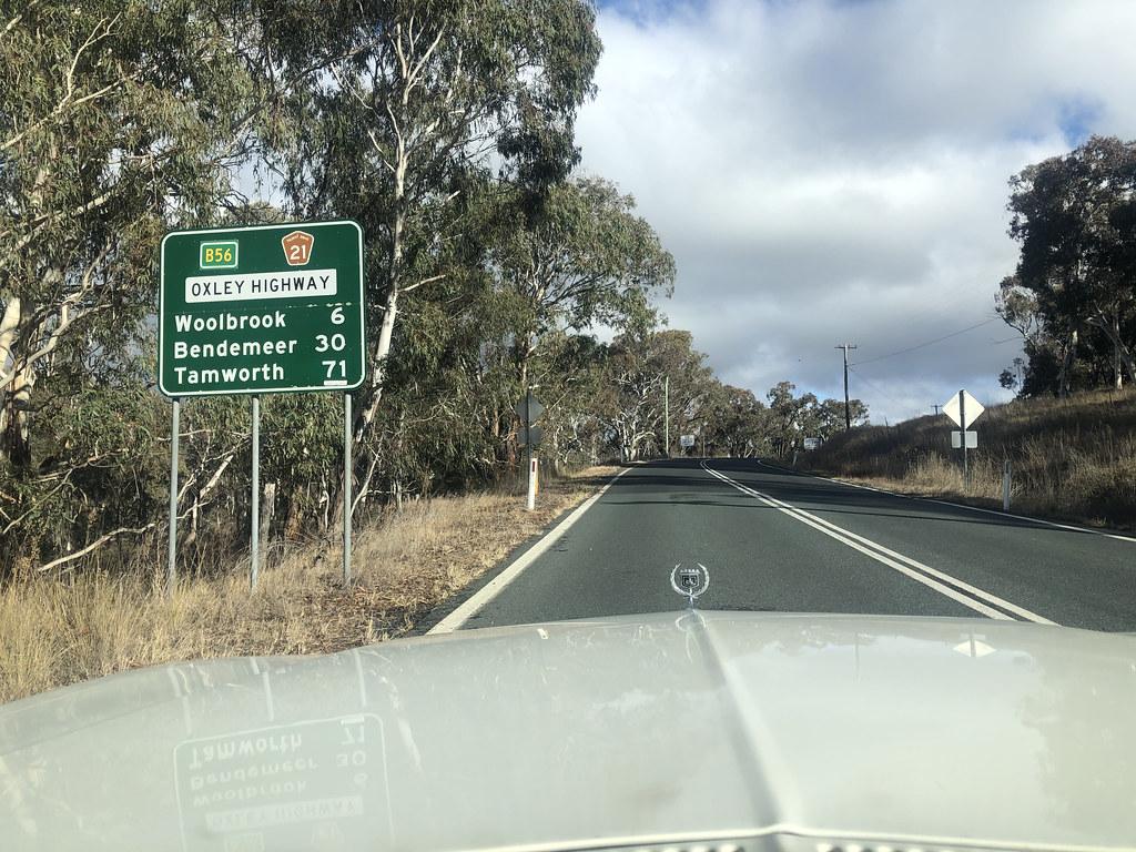 Oxley Highway near Walcha Road