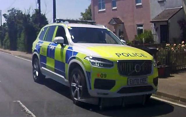 Essex Police: EU70 CEF