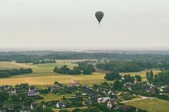 Hot air balloon | Birštonas aerial
