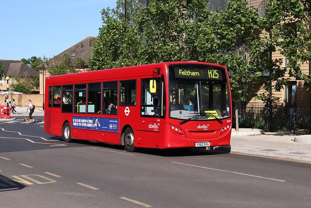 Route H25, Abellio London, 8589, YX62DVA