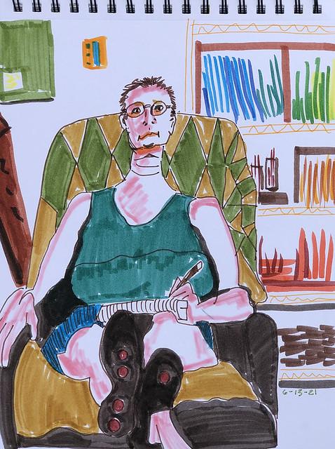 Self portrait Sunday
