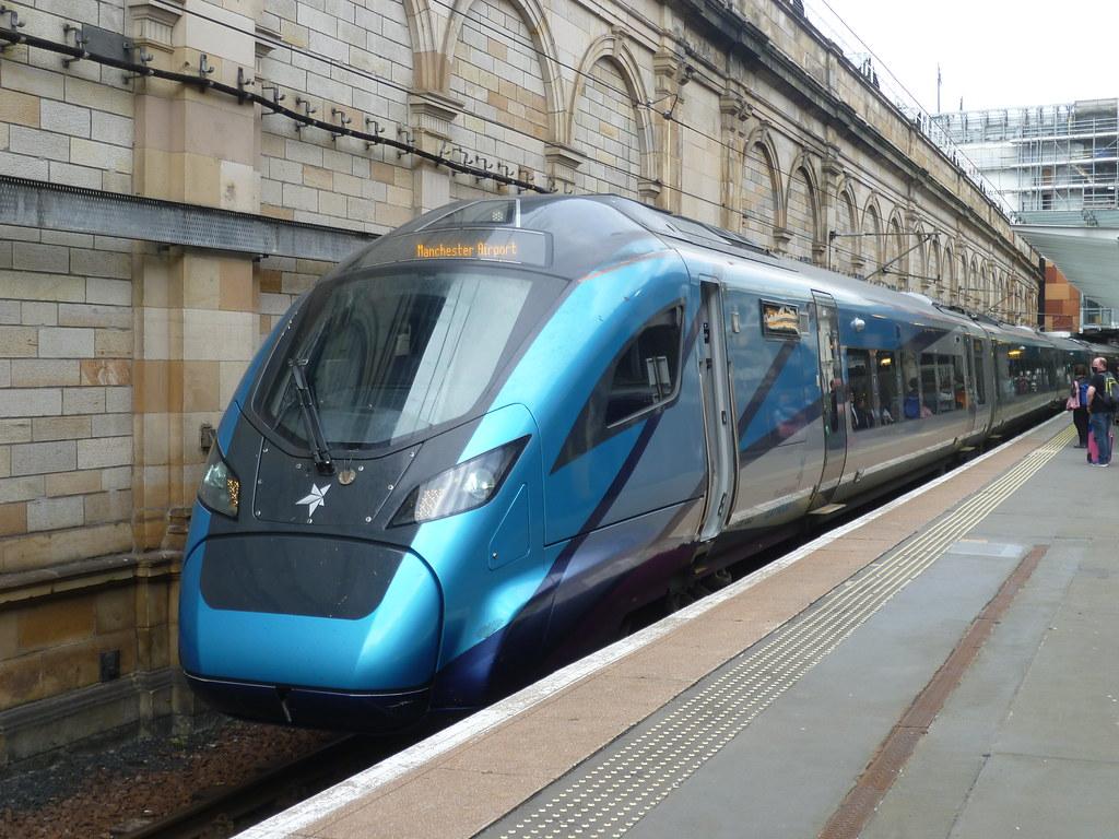 TransPennine Express Class 397 EMU at  Edinburgh Waverley.