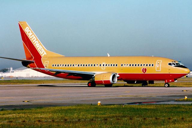 Southwest Airlines | Boeing 737-300 | N380SW | Houston Hobby